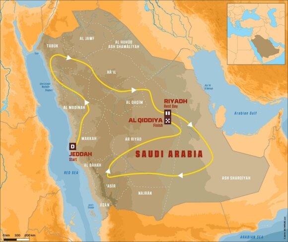 Dakaro ralis Saudo Arabijoje