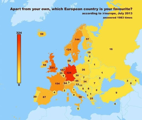 Visa tiesa apie daugiausiai geriančius, patraukliausius ir kvailiausią akcentą turinčius europiečius