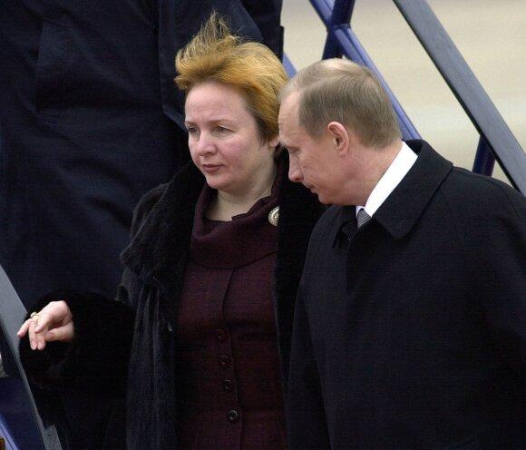 Liudmila Putina, Vladimiras Putinas