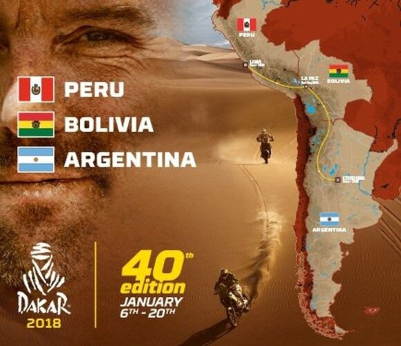 2018-ųjų Dakaro trasos