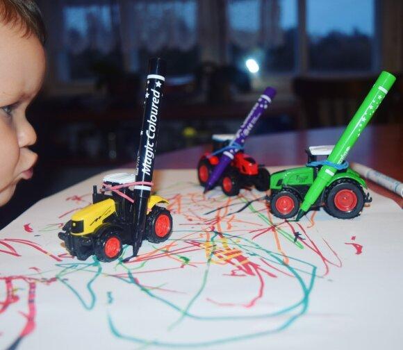 Teo ir Ieva pristato: 3 lavinančios ir linksmos piešimo idėjos su vaikais