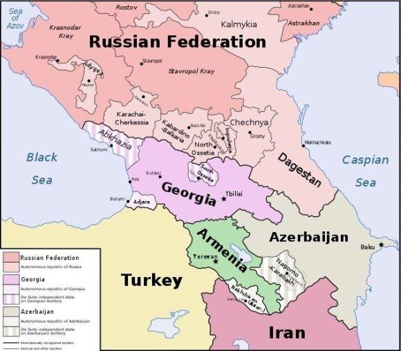 Trys valstybės rado būdą kalbėtis su Rusija