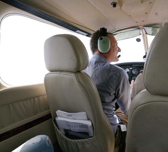 Andrius Juozapaitis šiuo nuosavu lėktuvu buvo net į Paryžių nuskridęs