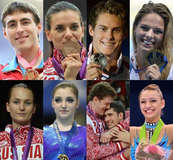Rusijos olimpinėje rinktinėje užgeso dalis ryškiausių žvaigždžių, bet kitos tebešviečia.