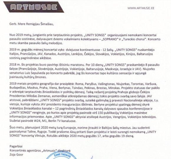 Pasiūlymo iš Kremliaus sulaukęs Šimašius: ačiū, Maskva, bet tokios meilės mums nereikia