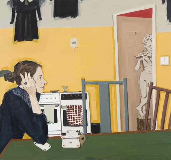 "Vita Opolskytė. ""Scrambled thoughts"" (2016)"