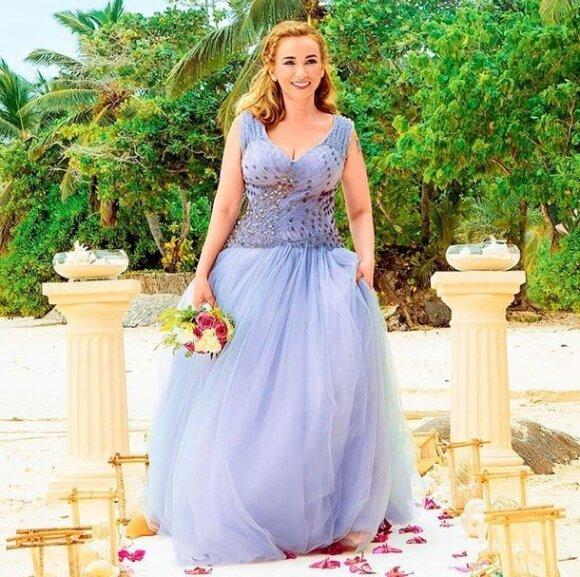 Почему Чехова отказалась от белого платья невесты?