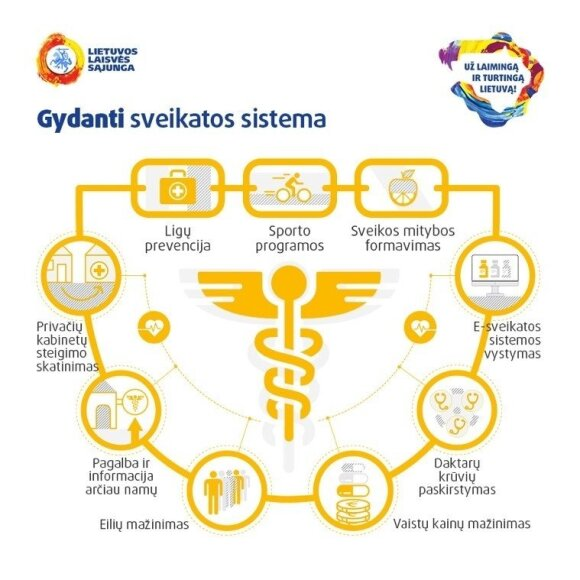 Gydanti sveikatos sistema