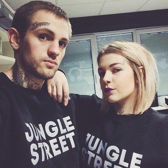 """Kamila ir Tomas """"Jungle street"""" salono įkūrėjai"""