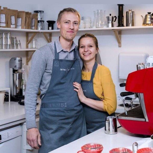 Vytautas Alšauskas ir Lina Jaruševičiūtė