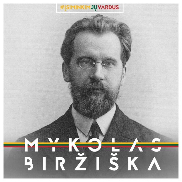 "Mykolas Biržiška / projektas ""Misija Sibiras"""
