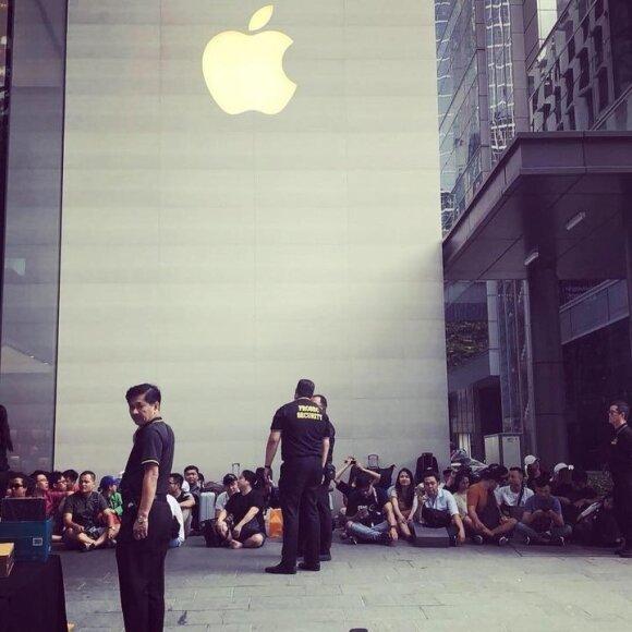 Очередь за новым iPhone