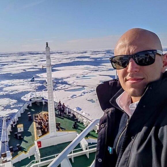 Laivavedys Mindaugas Oginskas
