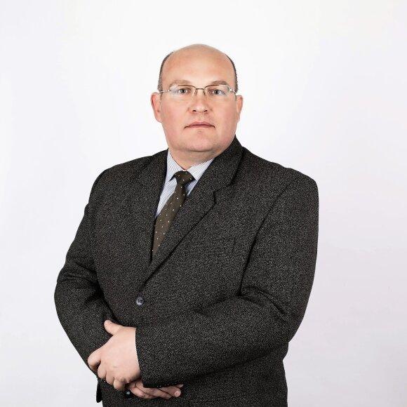 KTU Cheminės technologijos fakulteto mokslininkas, doc. E. Griškonis