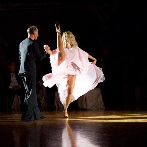 Su mylimuoju šokėju Mirko Gozzoli