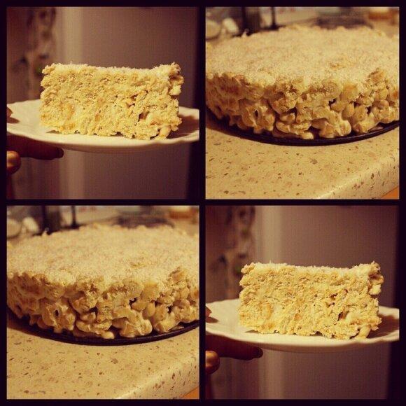 Fantastiškas nekeptas krekerių pyragas