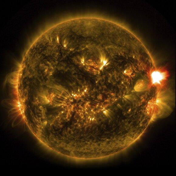 Saulės audra gali sukelti interneto apokalipsę Žemėje. Scanpix/Vida Press nuotr.
