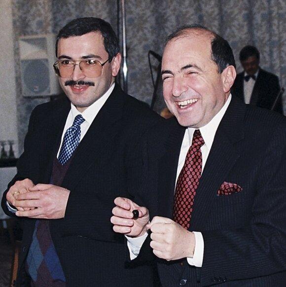 Michailas Chodorkovskis, Borisas Berezovskis