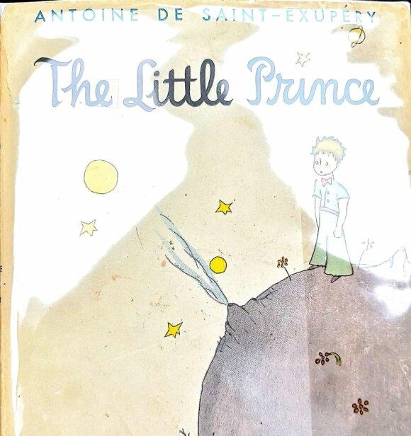 "1943 m. leidimo Antoine de Saint-Exupery ""Mažasis princas"""