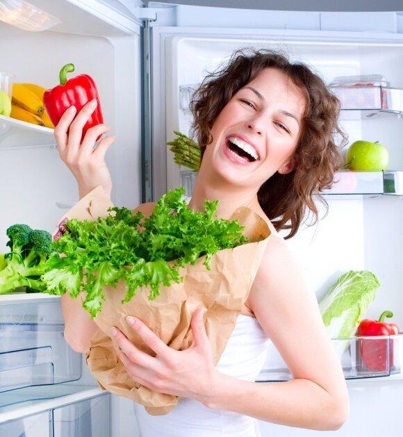 Ar tikrai pavojinga vartoti šaldytus produktus?