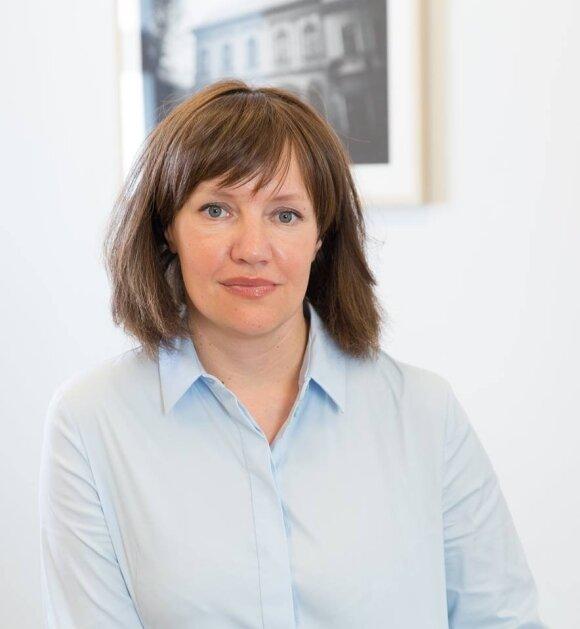 VDU Menų fakulteto dekanė prof. Jurgita Staniškytė