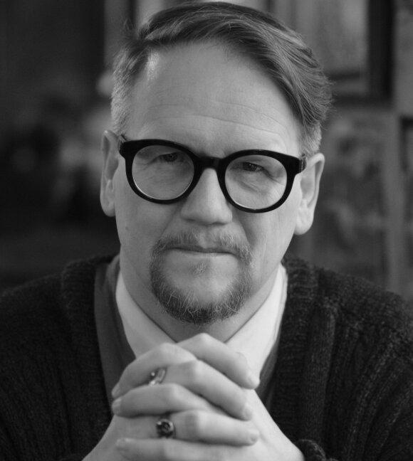 Islandų rašytojas Sjónas (Jóhanno Pállo Valdimarssono nuotr.)