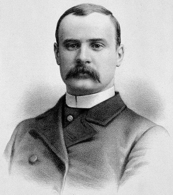 Josepho Merricko artimas draugas gydytojas Frederickas Treves, 1884