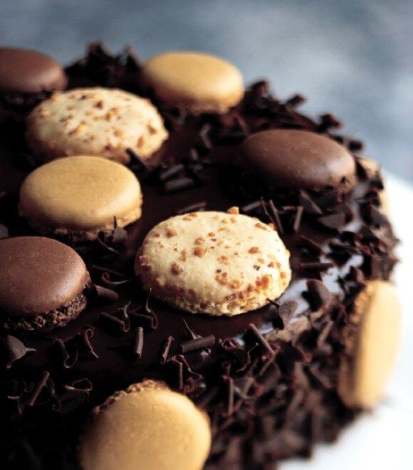 Šokoladinis tėčio tortas
