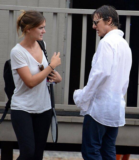 Emily Thomas ir Tomas Cruise'as