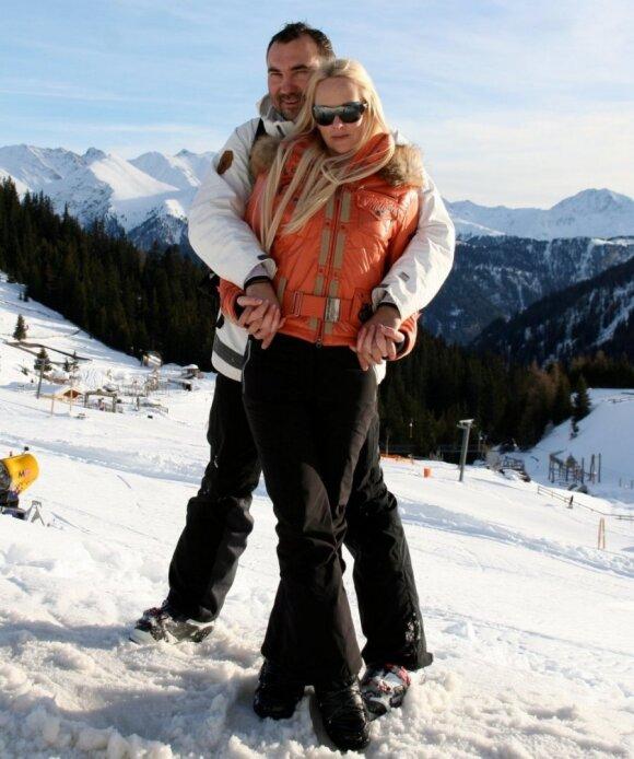 Diana Dargienė su vyru
