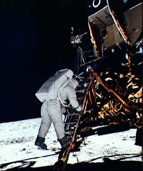 """""""Apollo 11"""" astronautas  Edwin E. Aldrin Jr."""