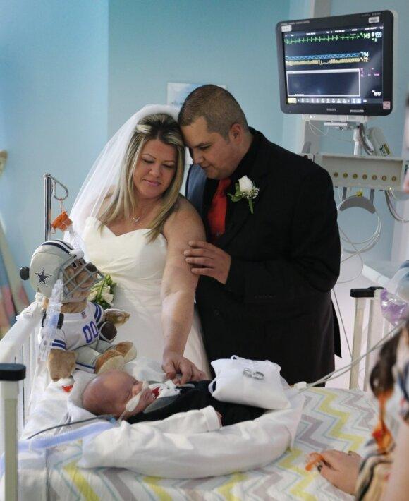 """Tai labiausiai jaudinančios vestuvės, kokias tik matėte <sup style=""""color: #ff0000;"""">(FOTO)</sup>"""