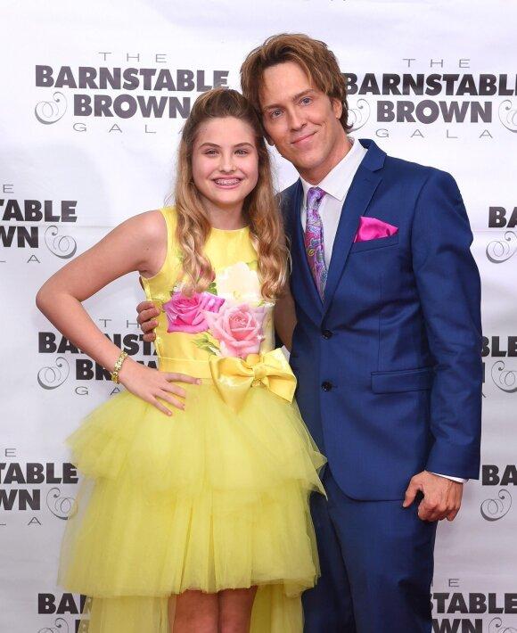 Dannielynn Birkhead su tėvu Larry Birkheadu