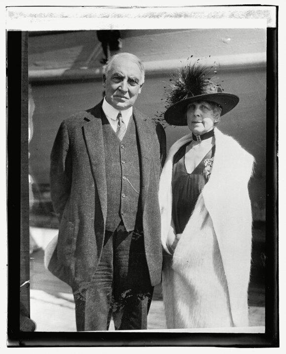 Warrenas G. Hardingas, Florence Harding