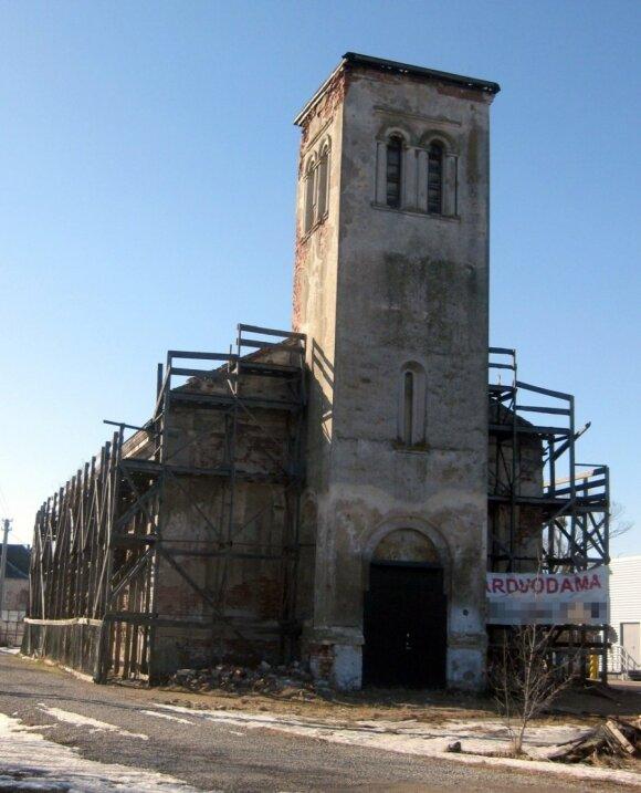 Bažnyčia Garliavoje. Autoriaus nuotr.