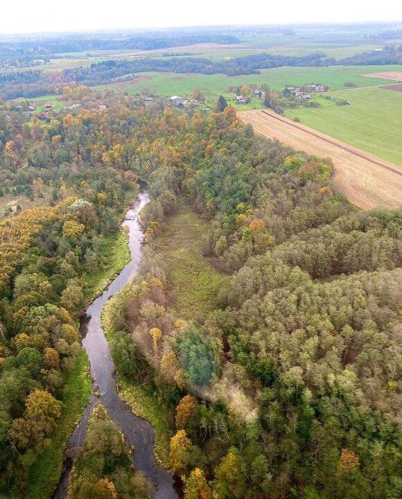 """""""Lašiša 2020"""": per reidą upės buvo stebimos ir iš oro"""