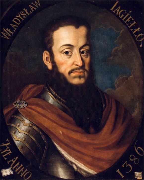 LDK valdovas ir Lenkijos karalius Jogaila (K.Aleksandrovič,1790)