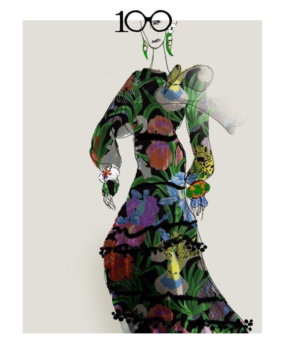 """""""H&M"""" ir šimtametė mados ikona Iris Apfel kuria bendrą kolekciją"""