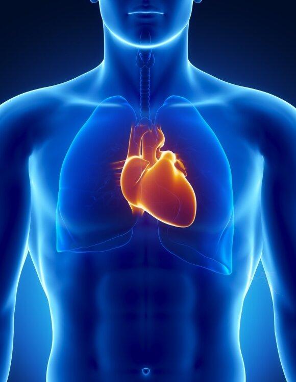 Miokardo infarktas dažniausiai ištinka netikėtai: kardiologas įspėjo, kokių požymių jokiu būdu neignoruoti