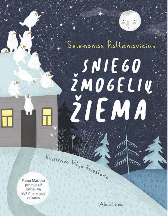 Naują knygelę vaikams pristatantis Selemonas Paltanavičius: man sako, galvoji ne taip, kaip visi suaugę žmonės