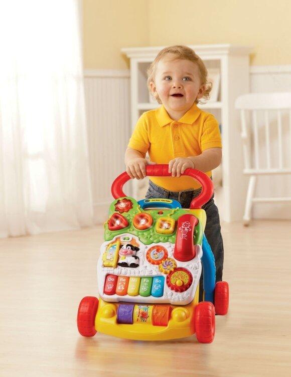 Kūdikio ugdymas pagal mėnesius: reikalingiausi žaislai ir priemonės