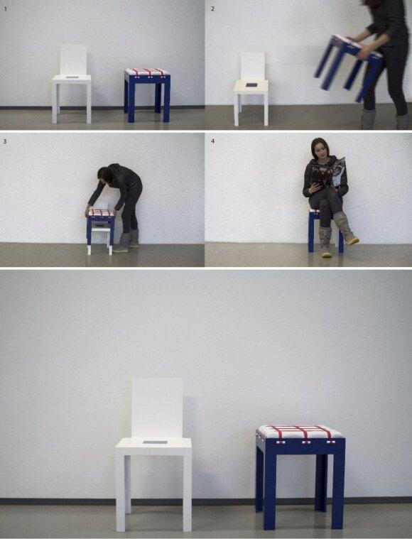 Drąsūs būsimų dizainerių eksperimentai skirti realiems žmonėms