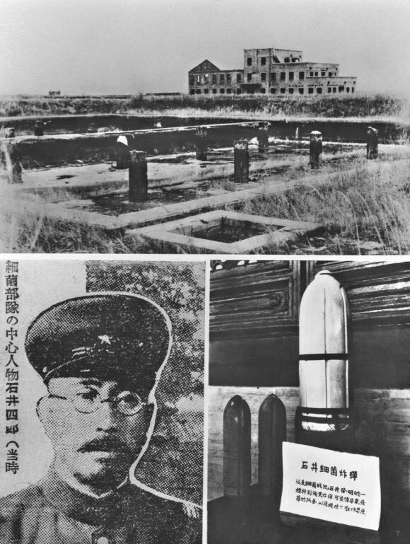 Pingfango stovykla ir jai vadovavęs Shiro Ishii