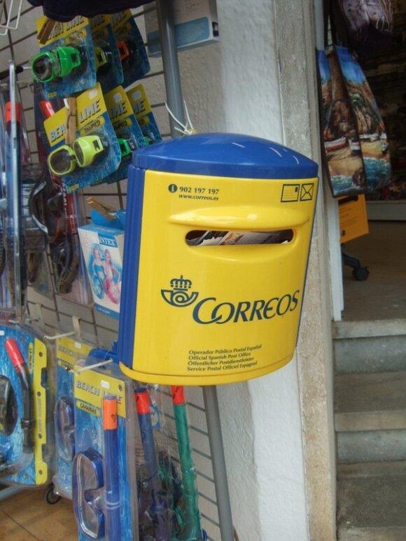 Pašto dėžutė Tosoje