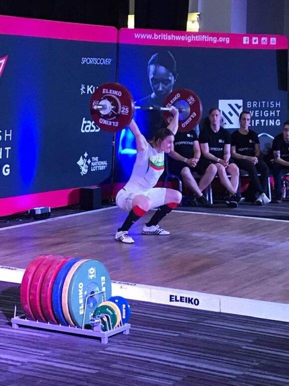 Gintarė Bražaitė (Lietuvos sunkiosios atletikos federacija)