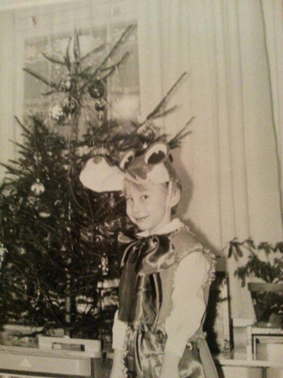 Kalėdinėje šventėje tapo krokodilu Gena