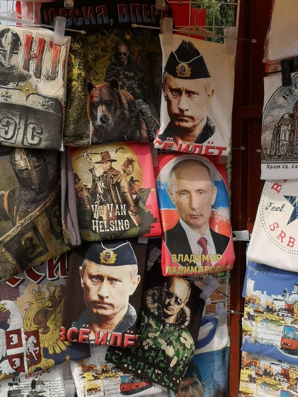 Serbija - artimai Rusijai ir tai labai jaučiama kiekviename žingsnyje.