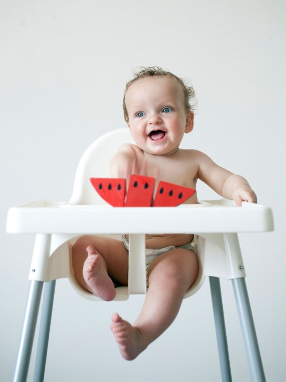 Netinkamai naudojamos kėdutės gali tapti skaudžios nelaimės priežastimi