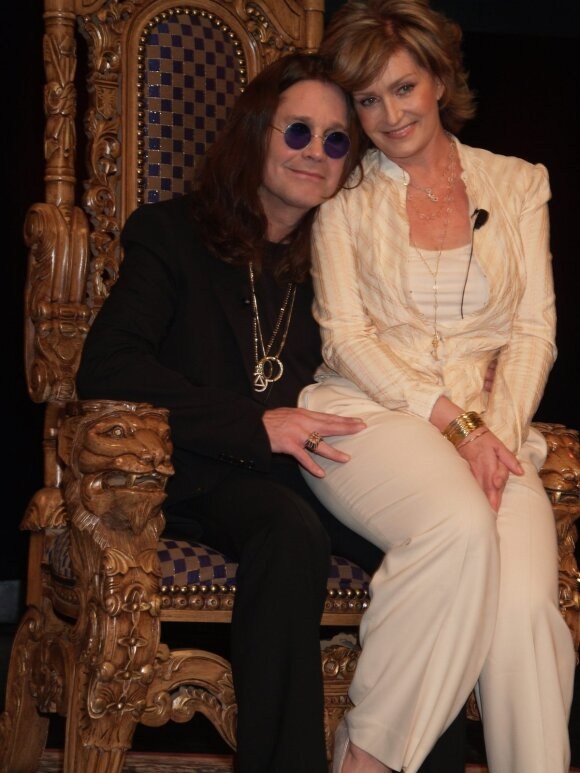 Ozzy Osbourne, Sharon Osbourne 2001 metais