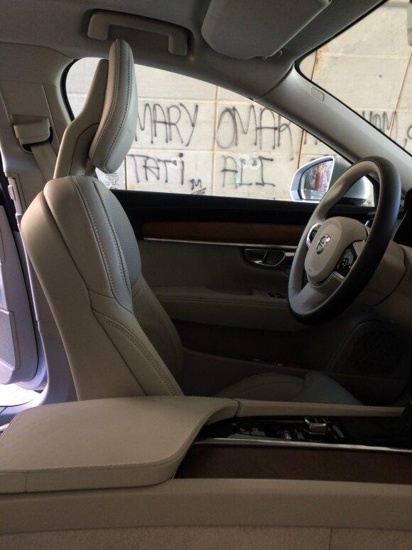 """Naujos """"Volvo"""" sėdynės komfortiškos ir ergonomiškos"""